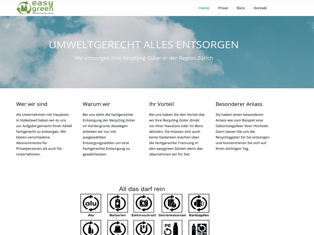 easygreen webgenius Referenz